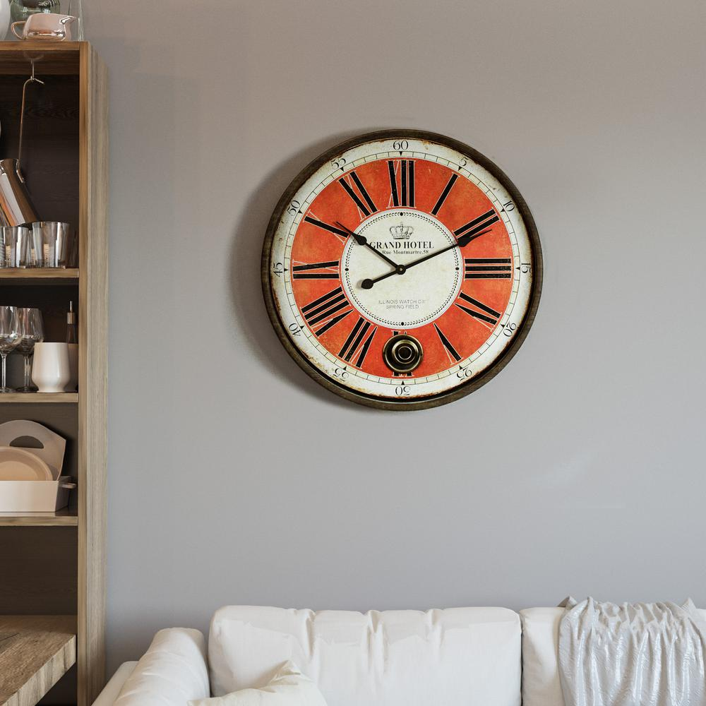 Wall clock 4
