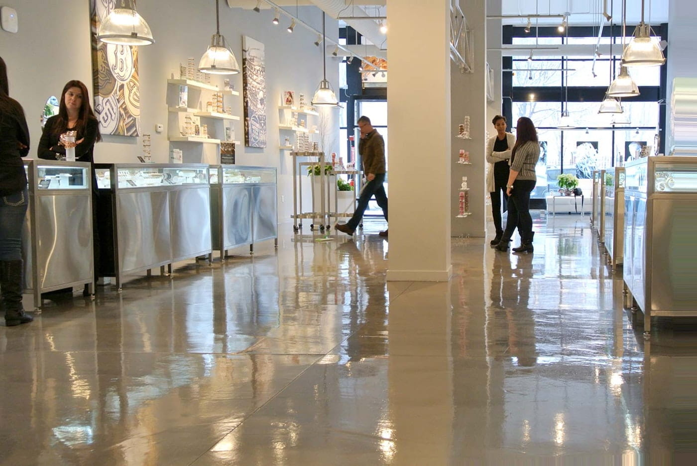 Install Polished Concrete Floors