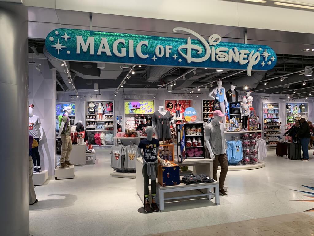 shopping at Orlando airport