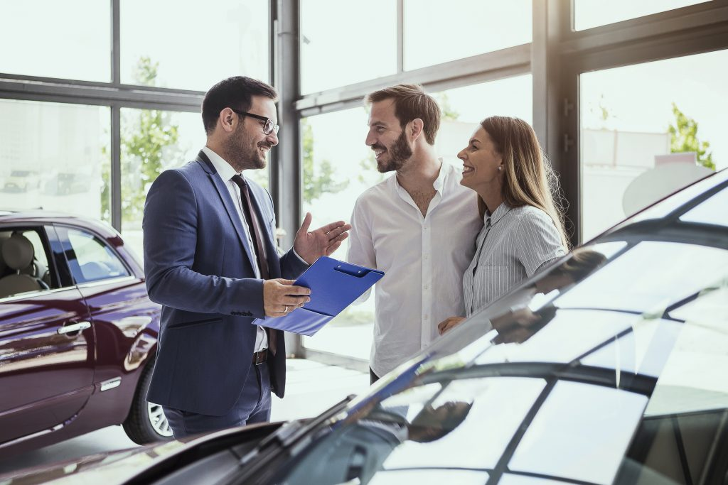 buying a car from dealerships