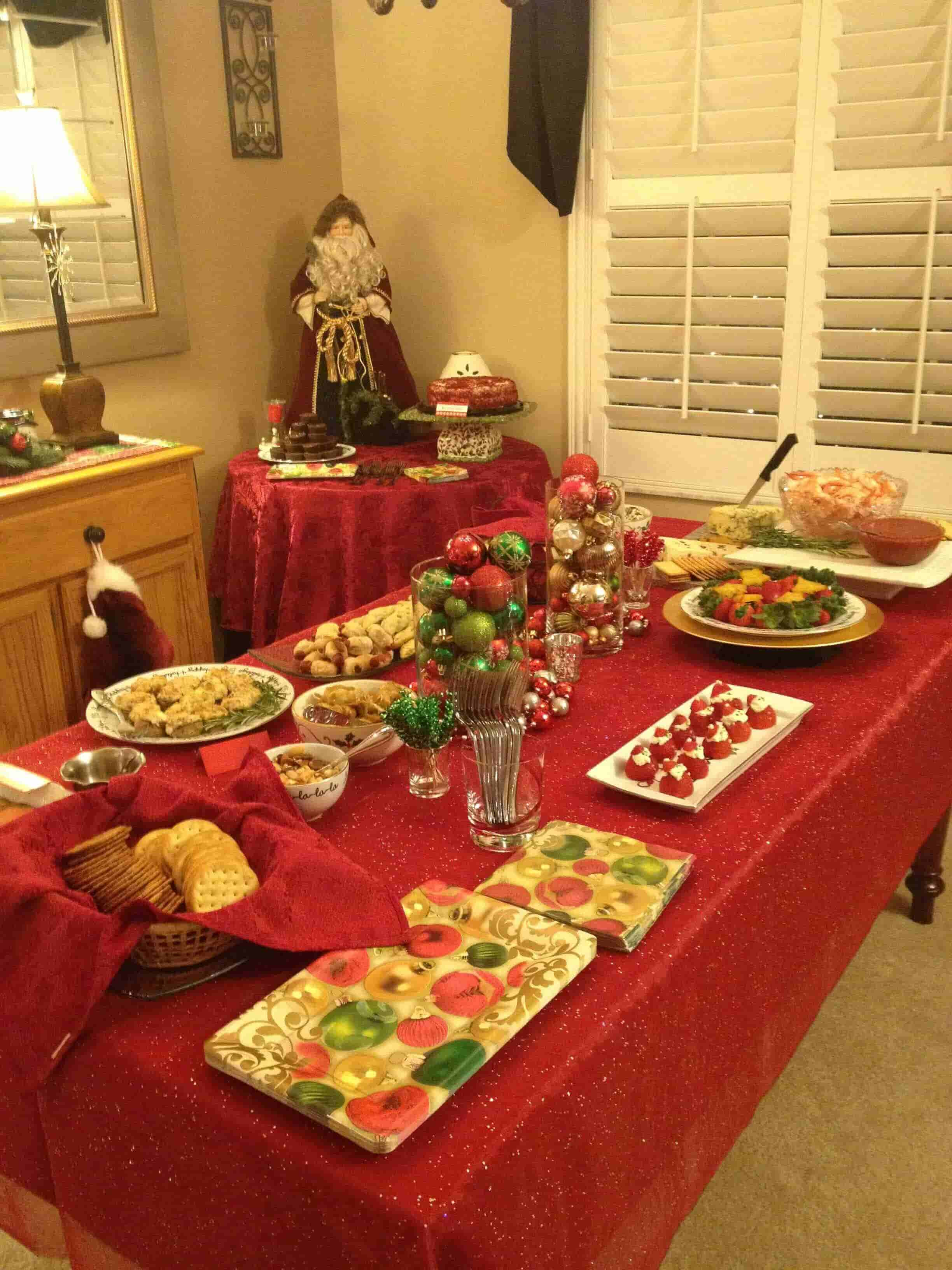 Recipes and Food Decoration Ideas for Christmas Party