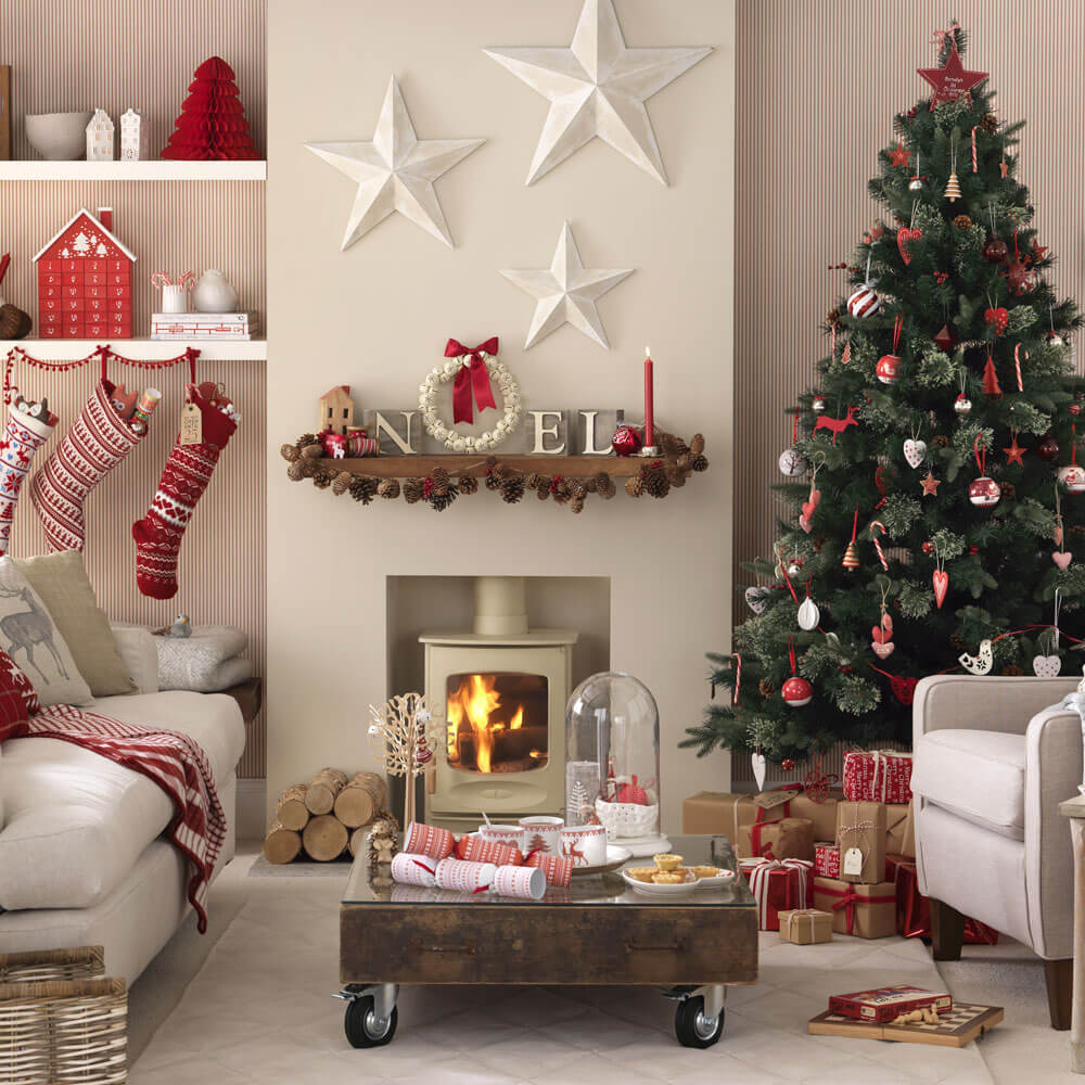 Small Space Christmas Decoration