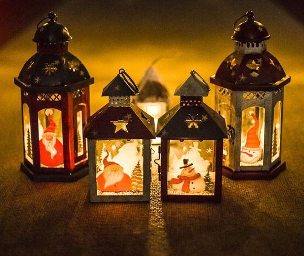 Christmas Candle Decoration Ideas
