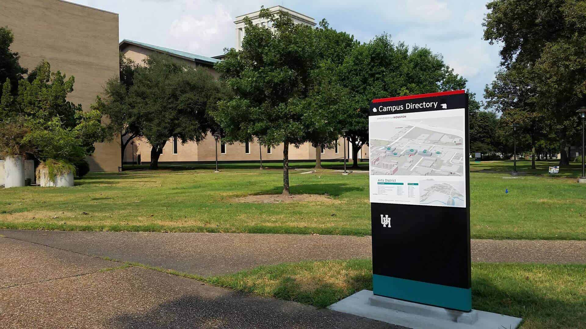 Improve Campus Way Finding System