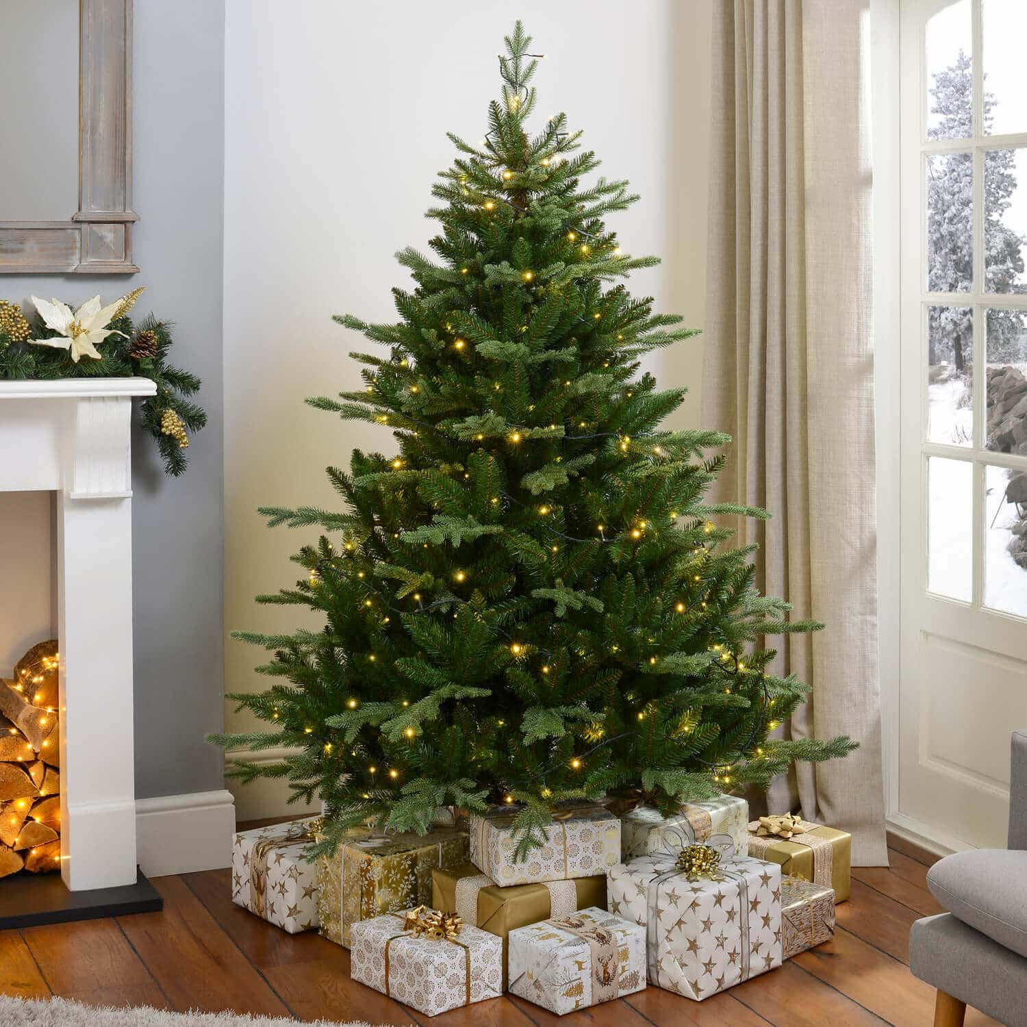 Artificial Christmas Trees Amazon Uk: Beautiful And Amazing Artificial Christmas Trees
