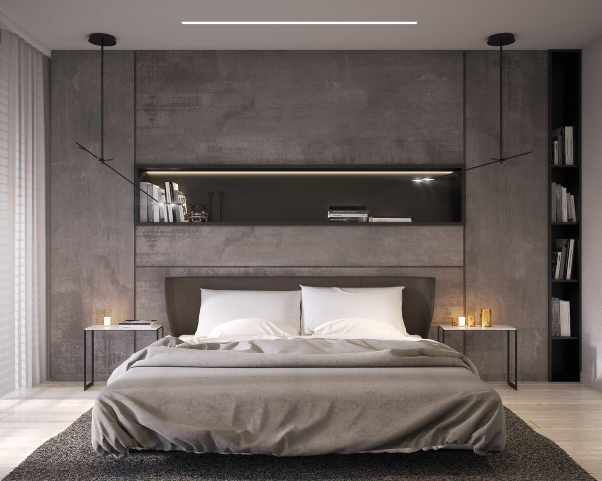 Modern Bedroom Wall Design