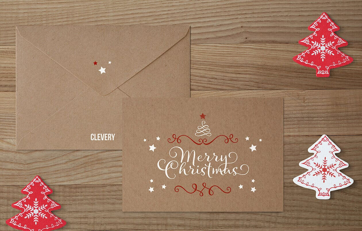 Christmas Greeting card Design Ideas