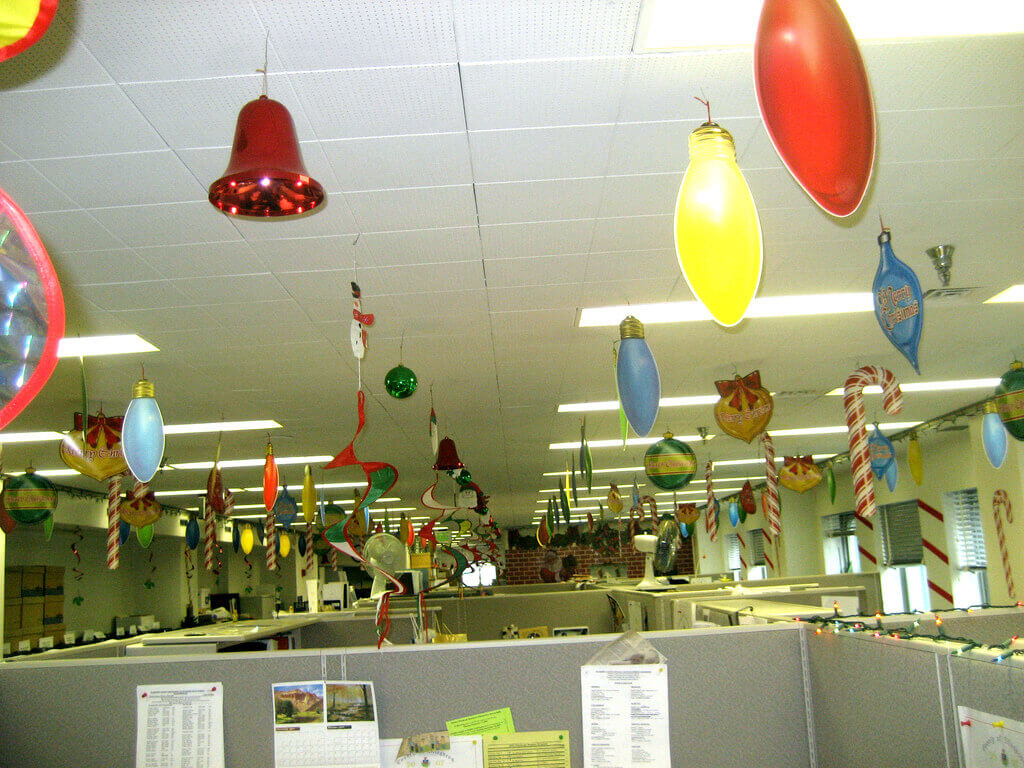 Most Beautiful Office Decoration Ideas For Christmas Live Enhanced