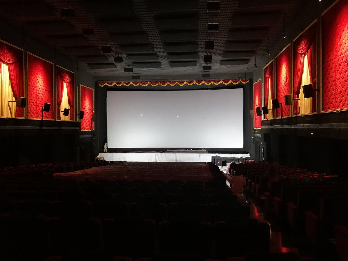 Theaters screen