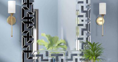 Mirror Frame Decorating Design