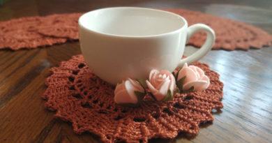 Attractive Tea Coaster Design