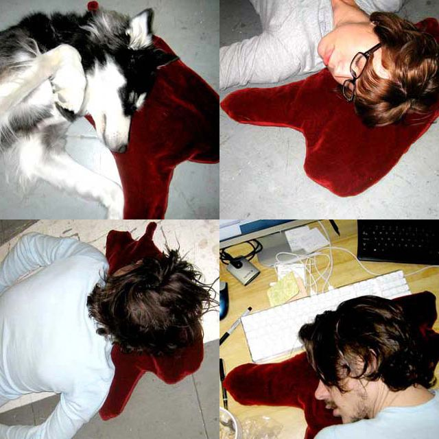 Bloodstain Pillow