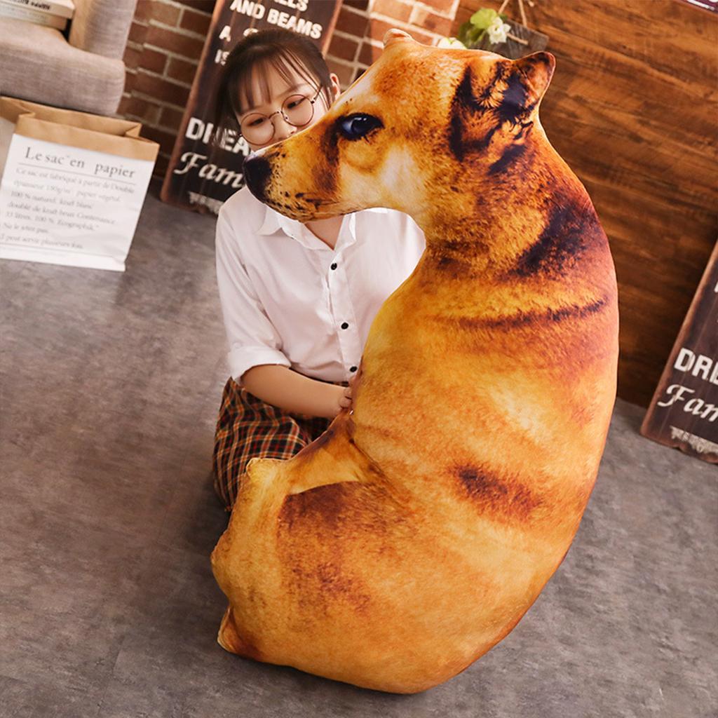 Dog Print Throw Pillow
