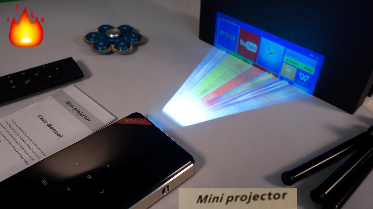 Hand-Held iPhone Projector