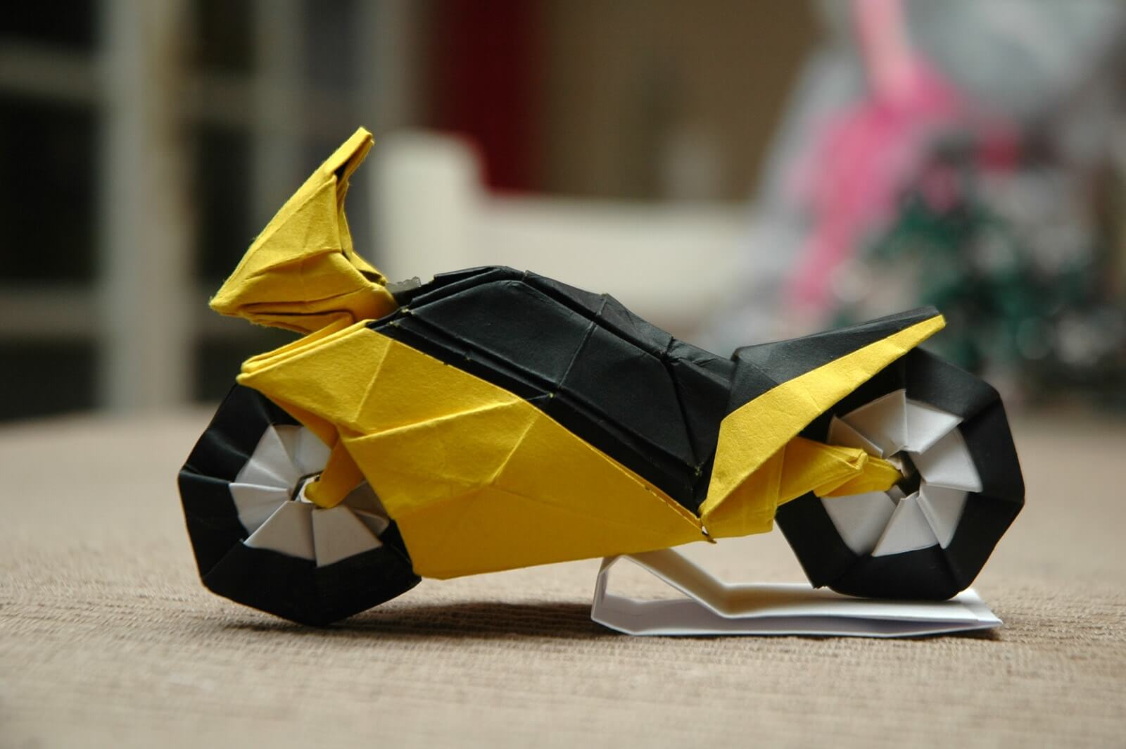 Origami Bike by Ryo Aoki