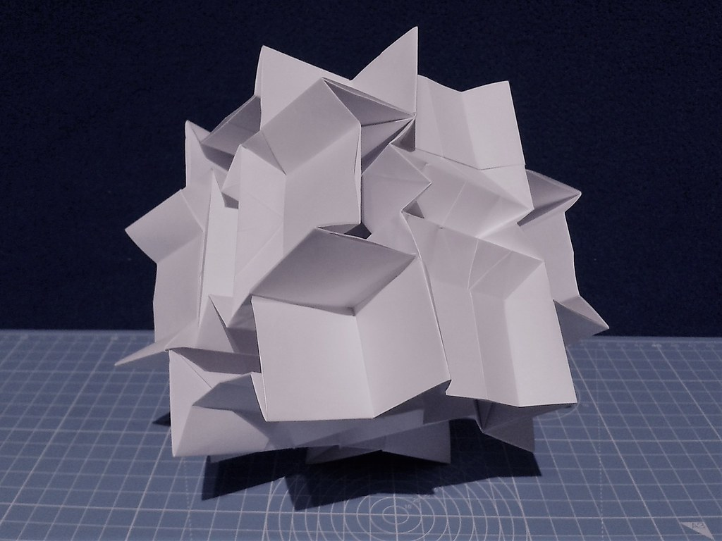 Origami Sculpture Designed by Jo Nakashima