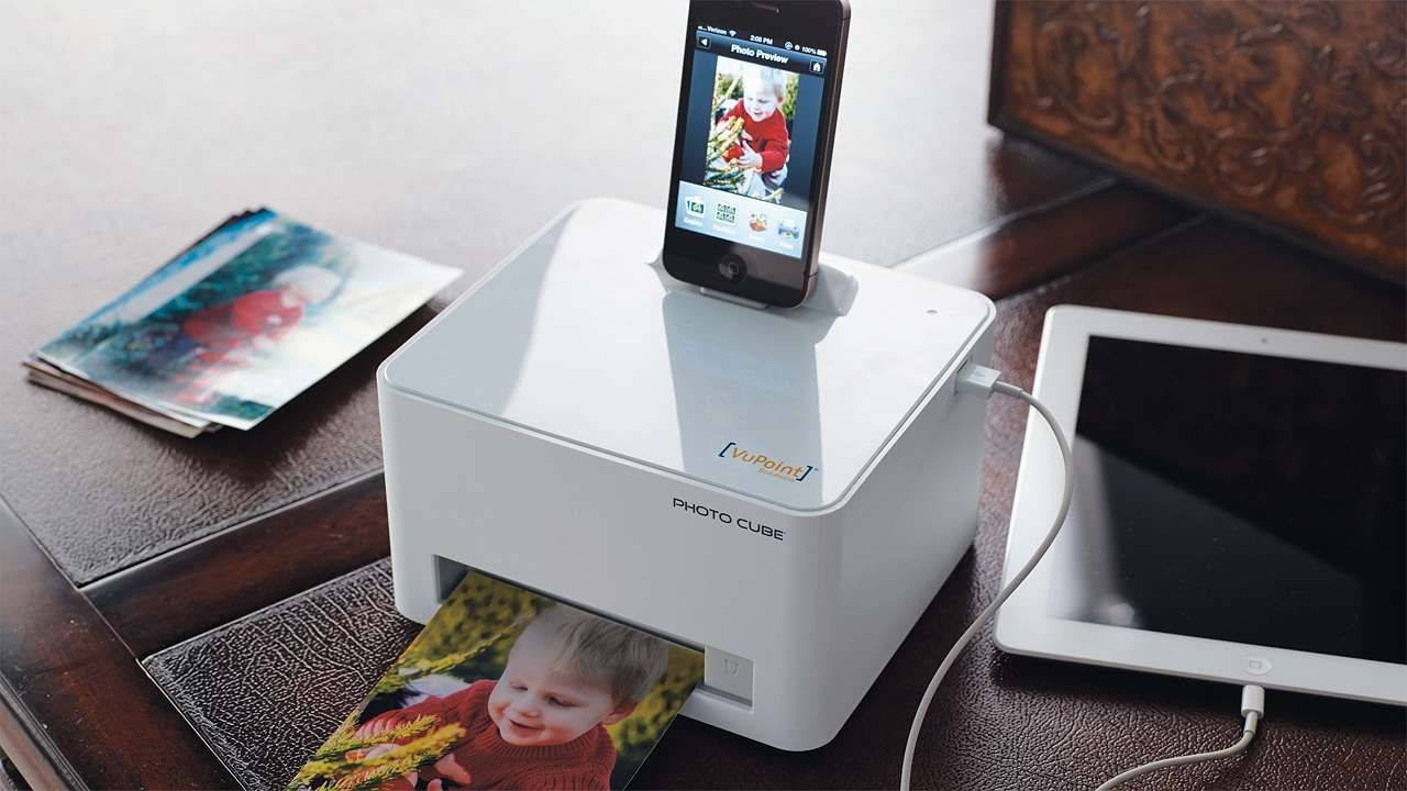 Photocube iPhone Printer