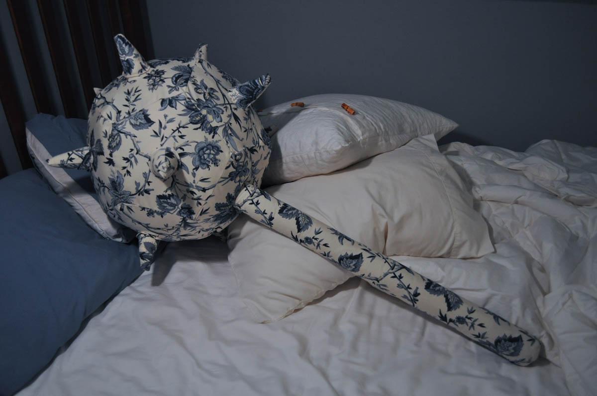 Pillow Mace by Matthew Borgatti