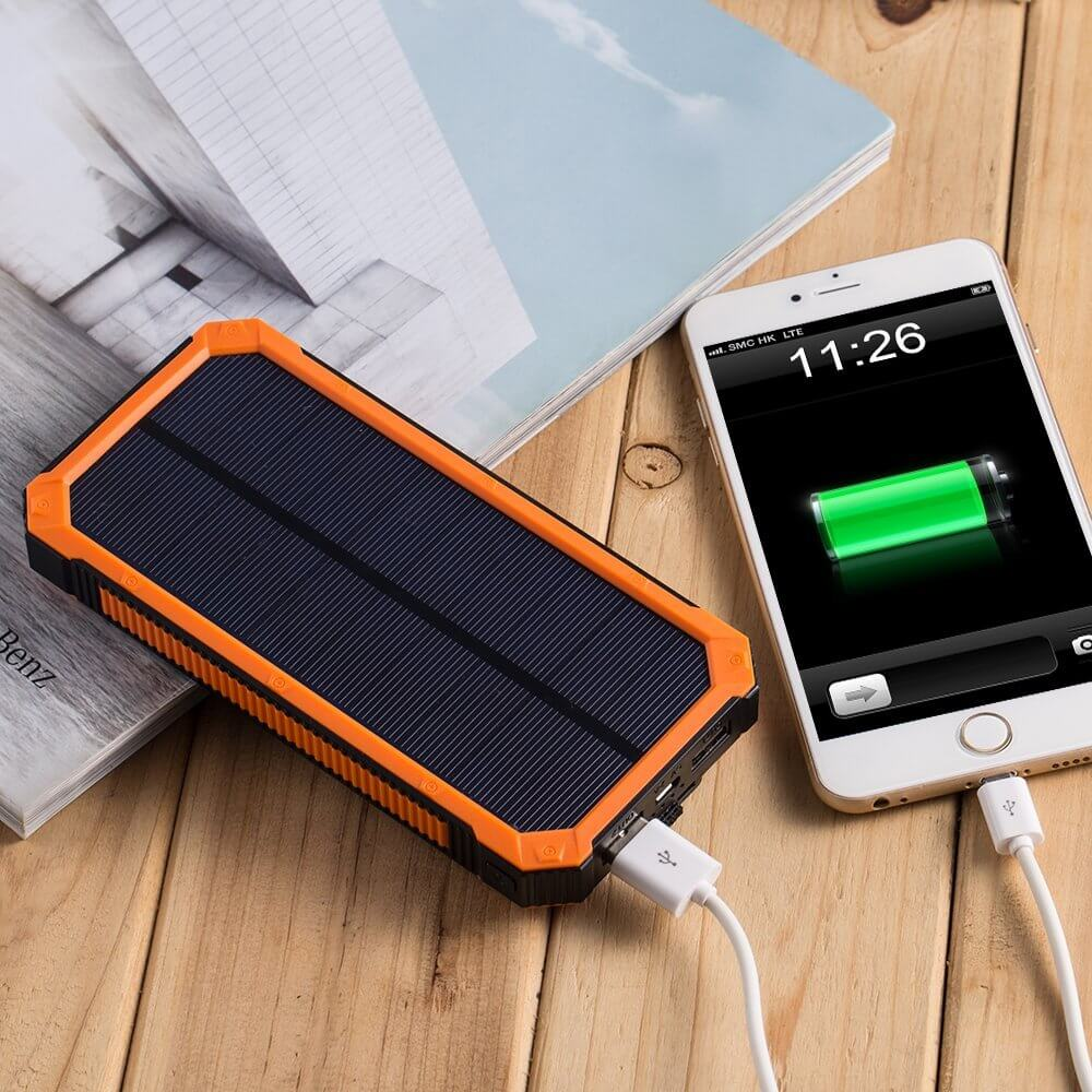 Portable Solar Battery Pack for iPhone