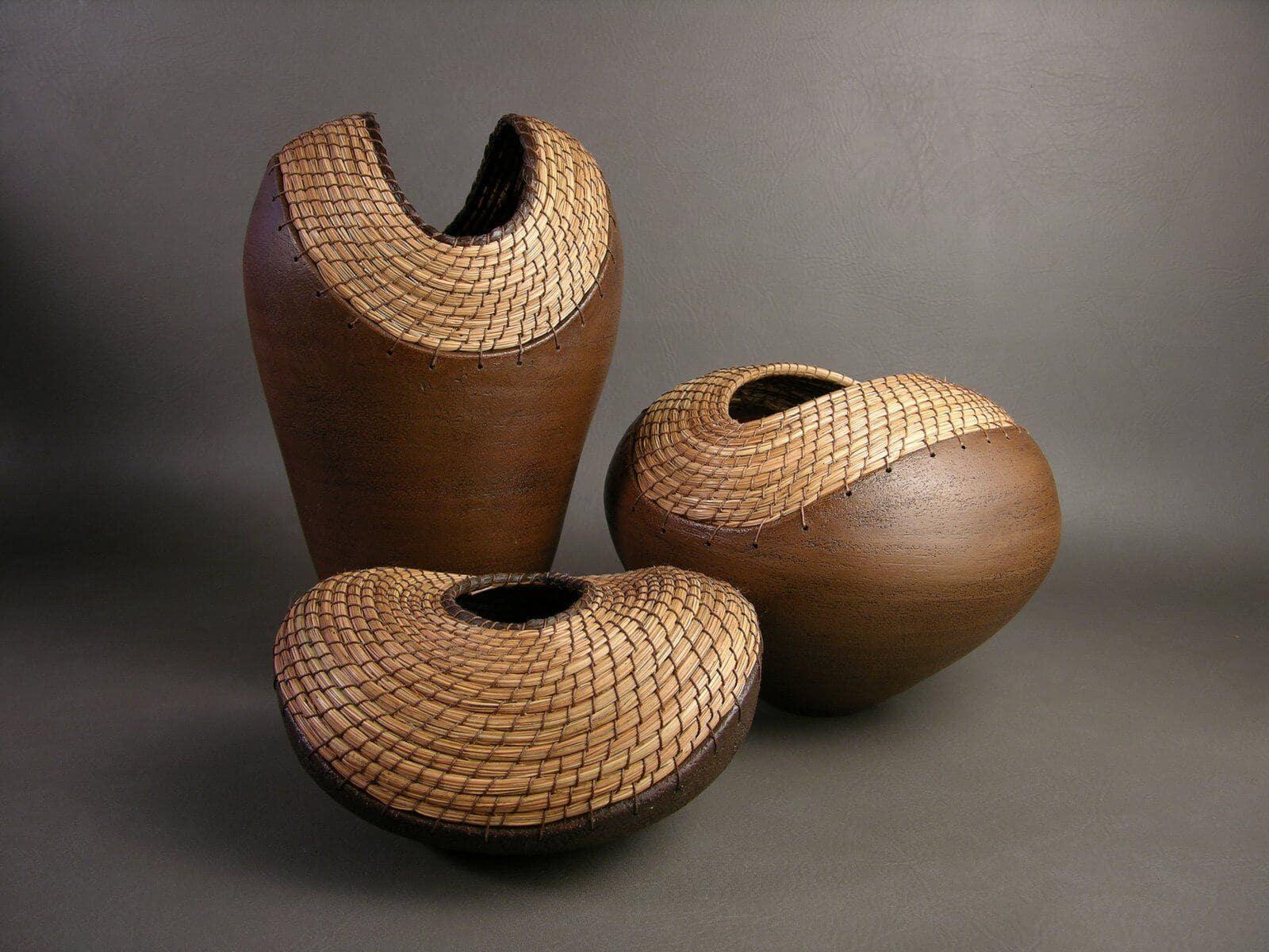 Sculptural Vessels by Janice Cormier