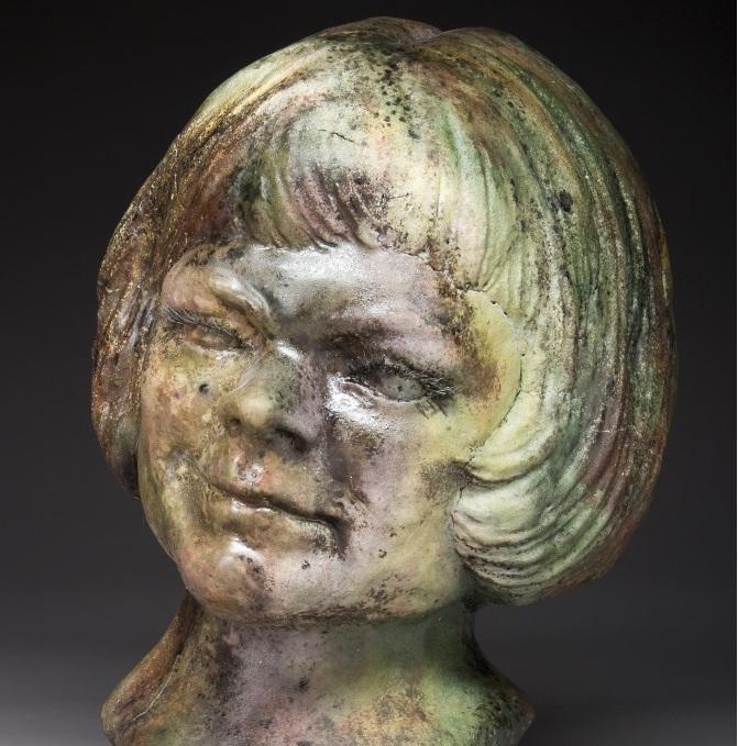 Self-Portrait Bust – Fall 2010 by CydneyRoss