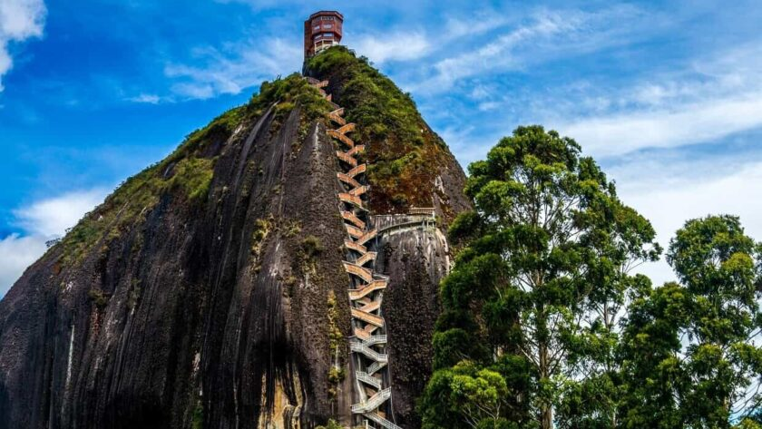 The Rock of Guatape, Colombia