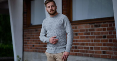 How to Style Men's Alpaca Crew Neck Shirts