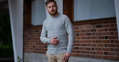 How to Style Men's Alpaca Crew Neck Shirts