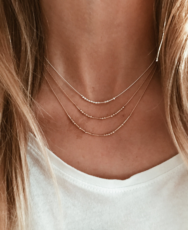 Custom Morse Code Necklace