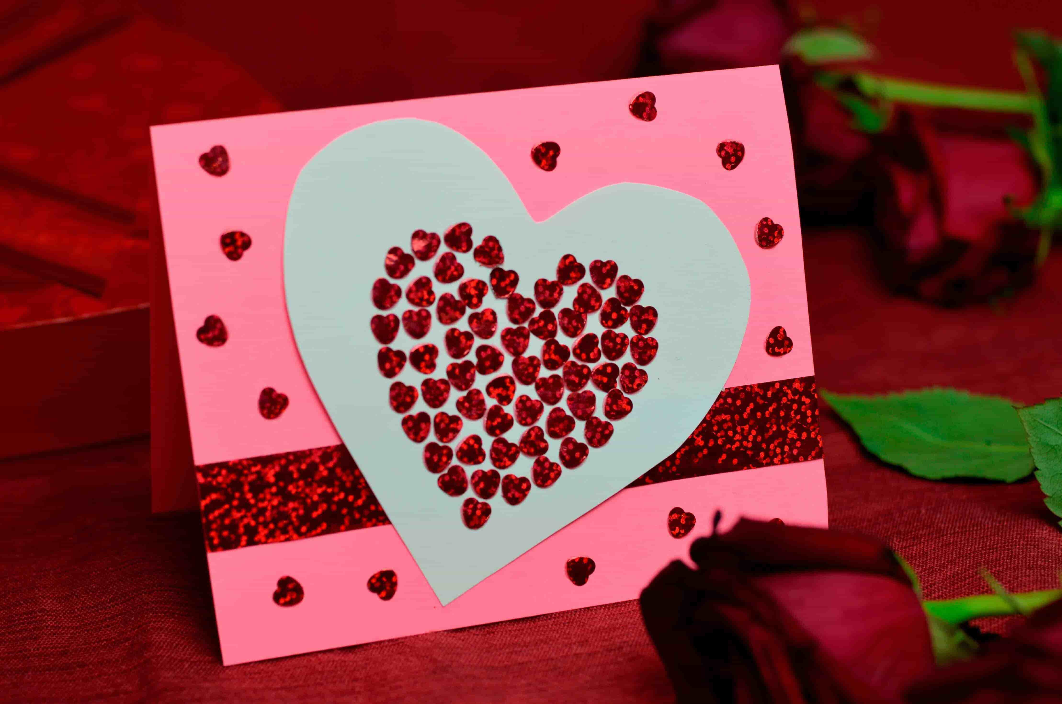 Greeting Card Design for Valentine's Day
