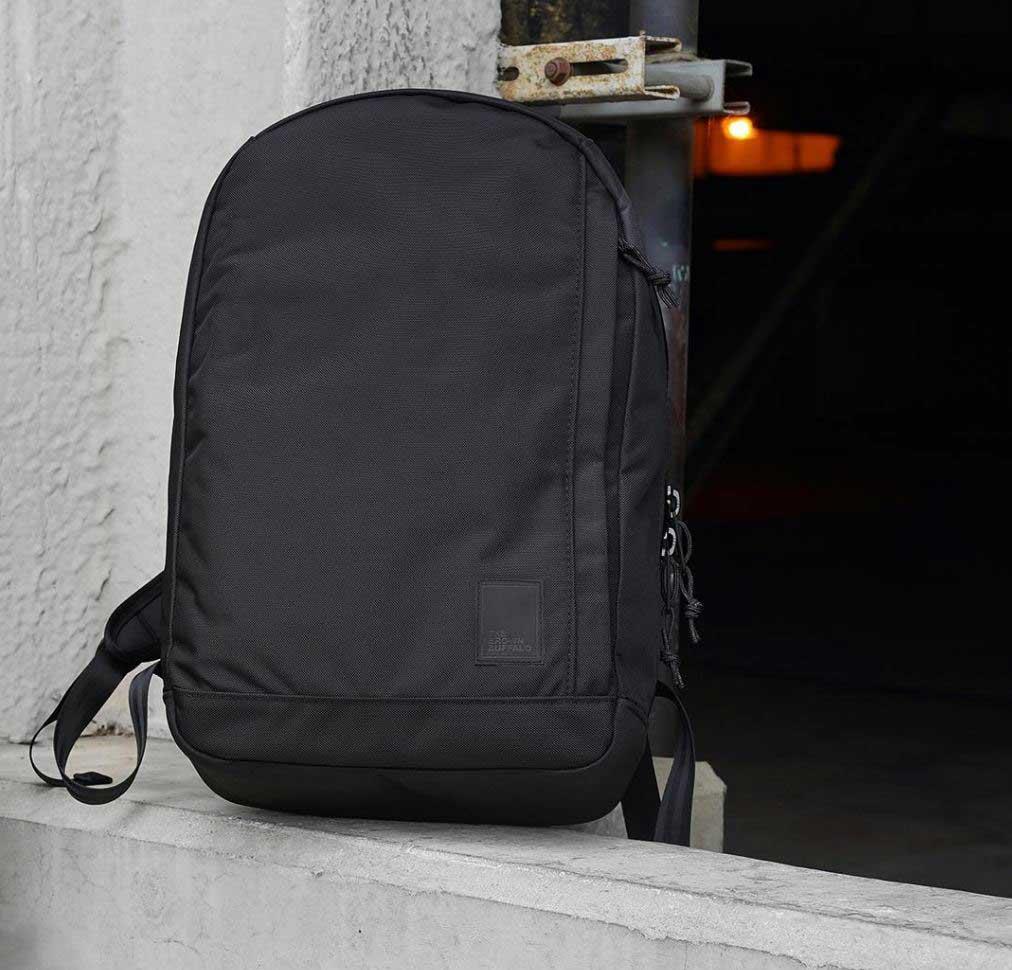 Original Mini Top Clip Backpack Nylon Dark olive