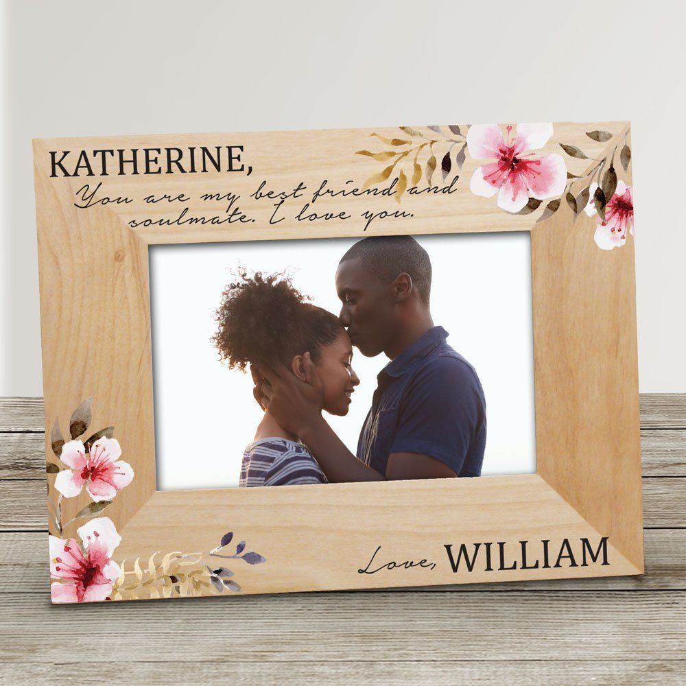 Romantic Wooden Picture Frame
