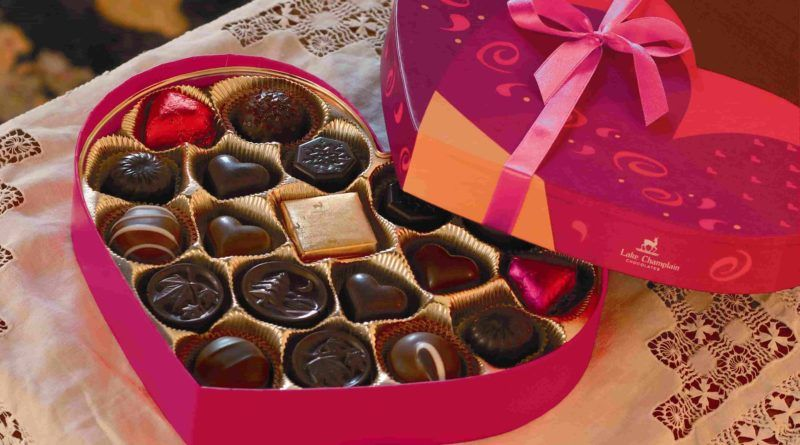 Valentine's Day Chocolate & Chocolate Gift