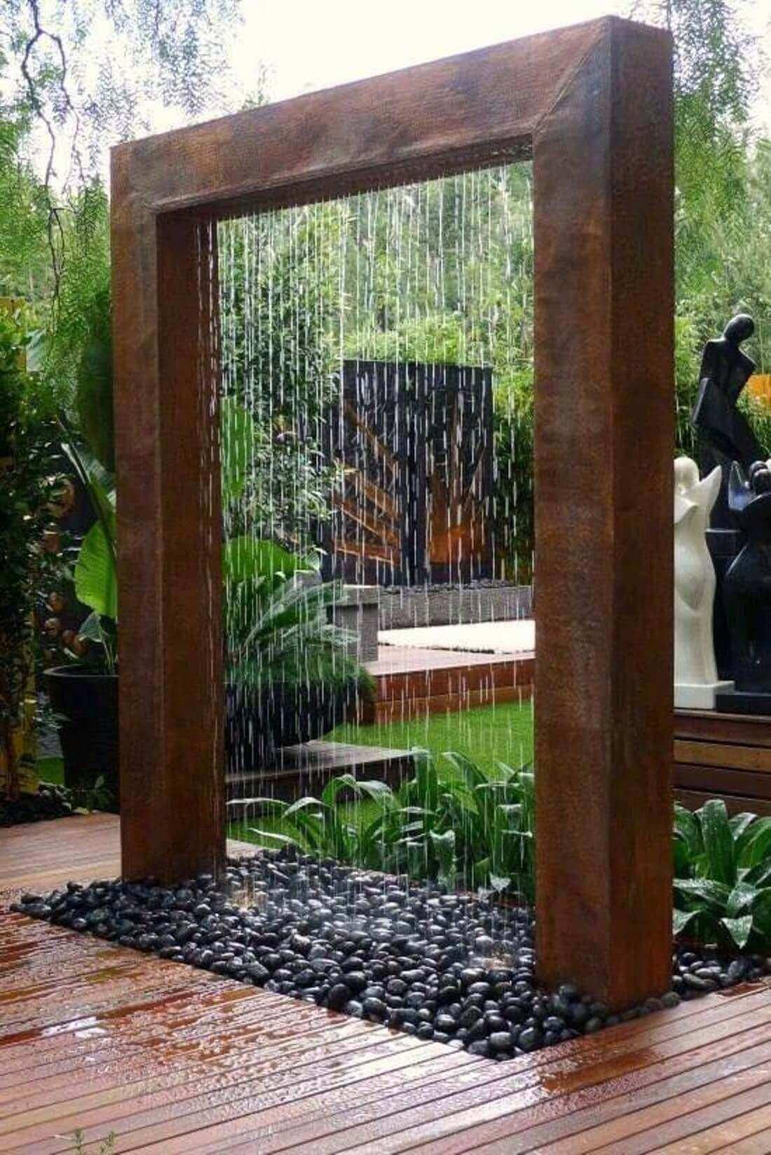 Attractive Outdoor Fountain Designs Taken From Pinterest