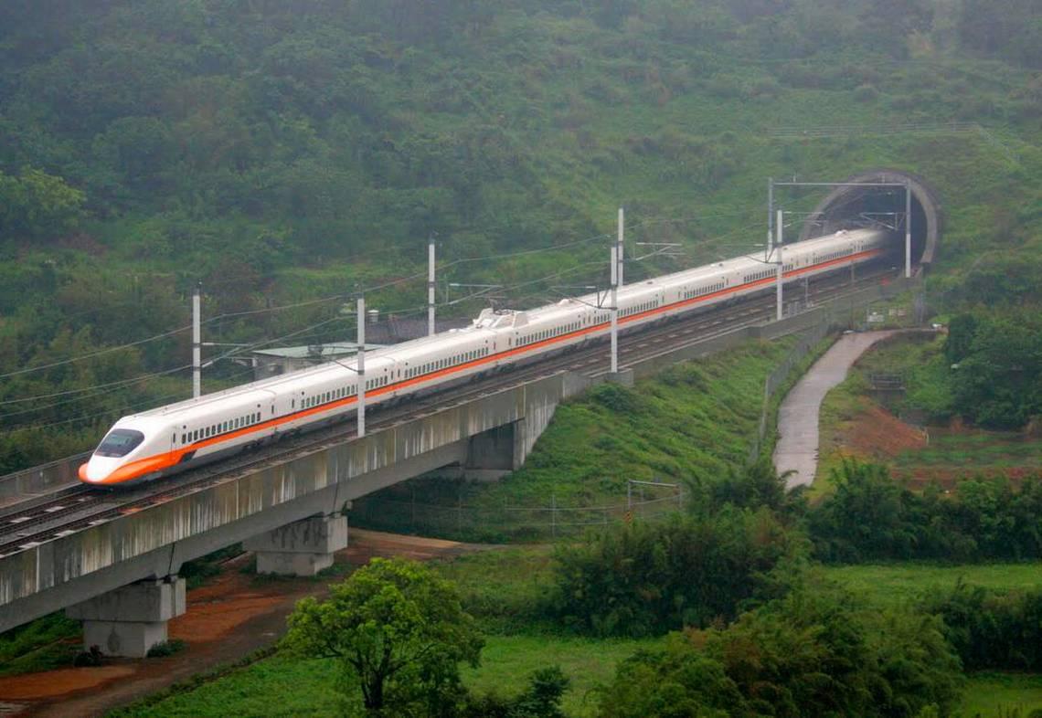 Changhua-Kaohsiung, Rail Taiwan