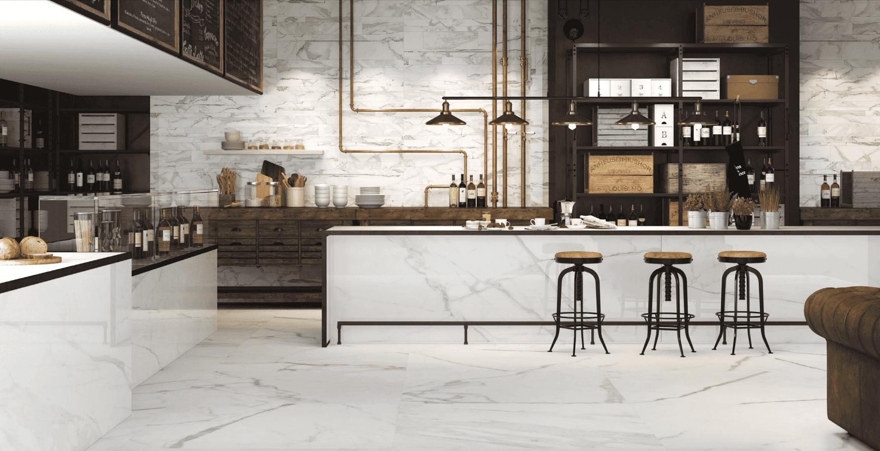 Porcelain Slab flooring