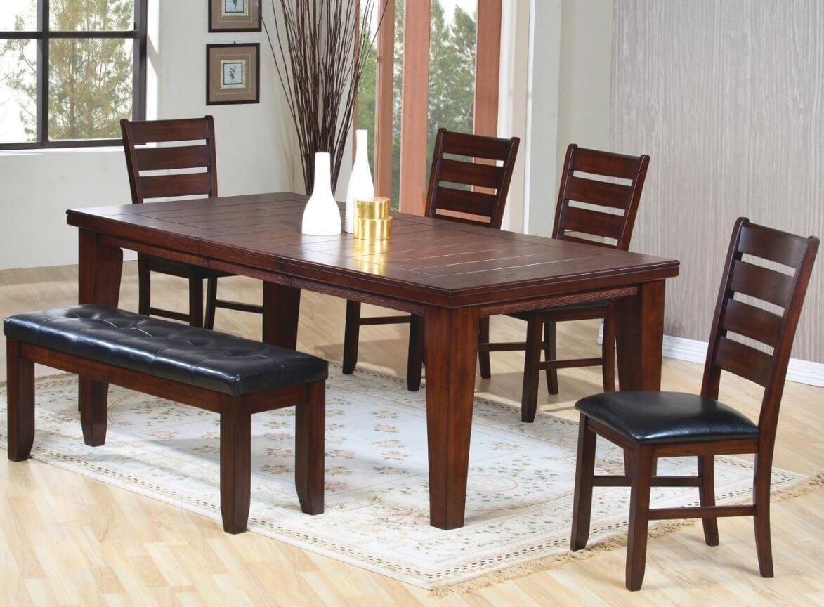 dining table on one side