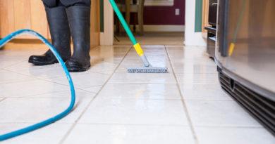 floor scrubing