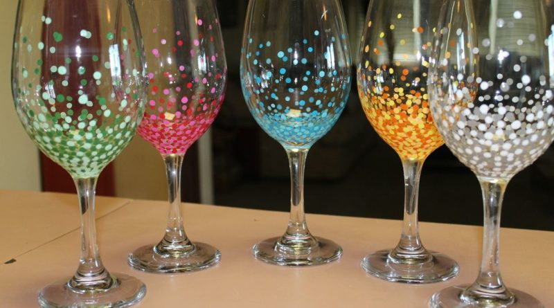 glass painting craft