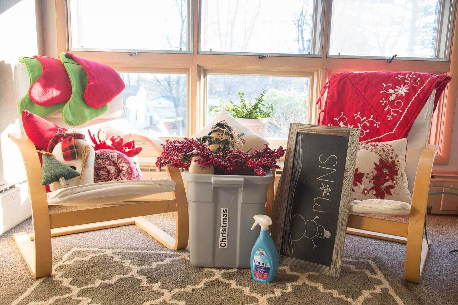 Declutter and redecorate your house