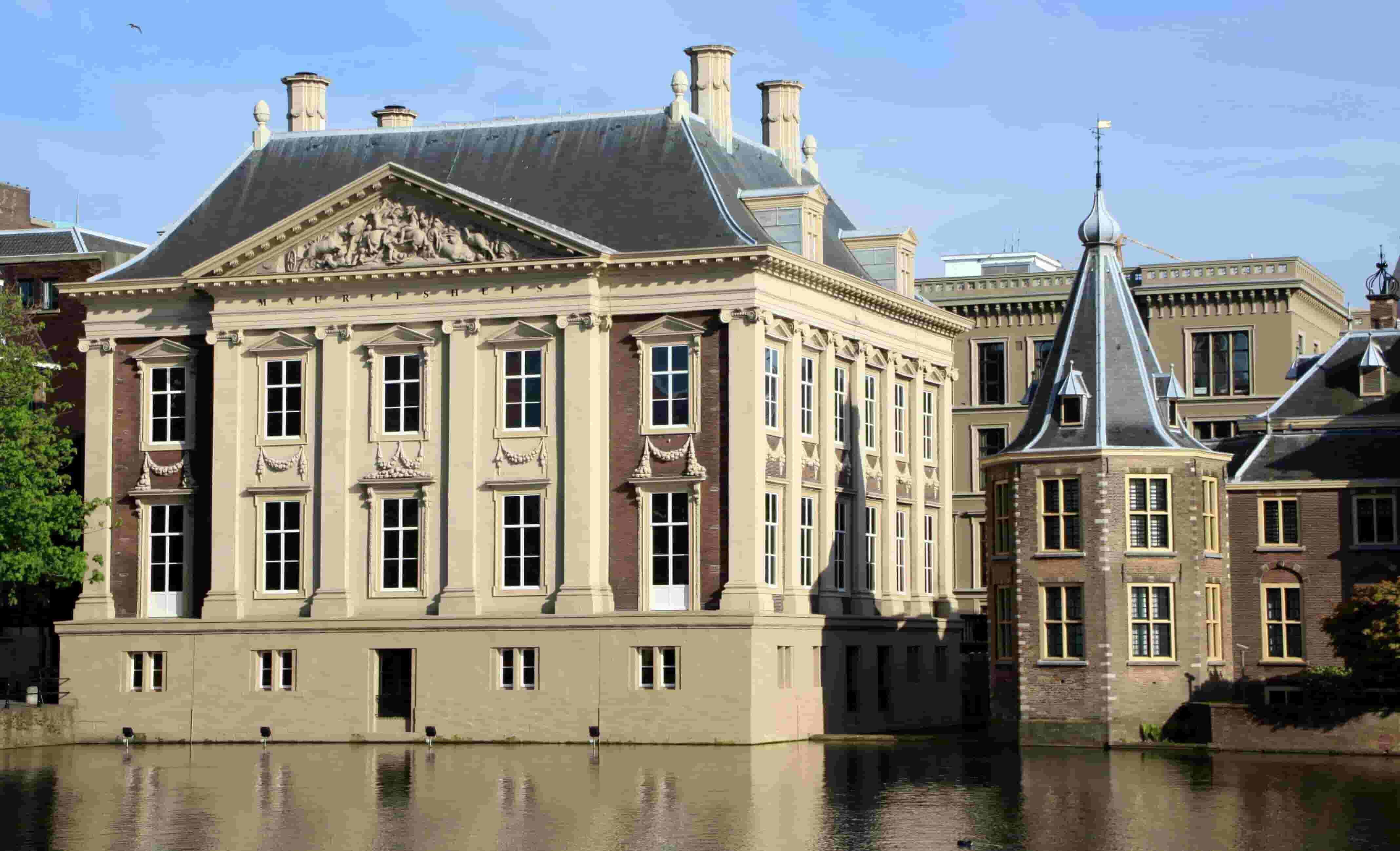 Mauritshuis in The Hague, Netherlands