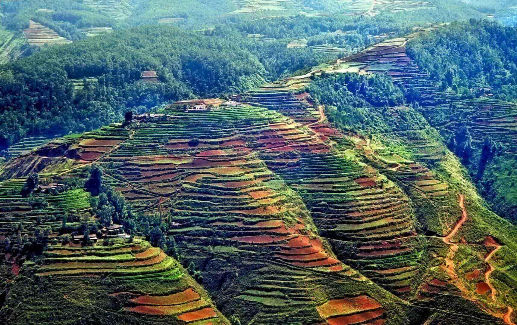The Dongchuan Red Lands