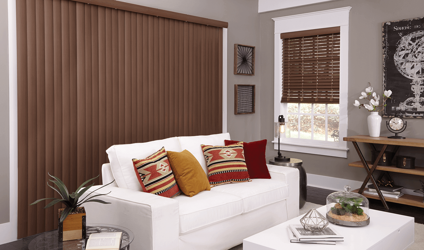 Fauxwood window Blinds
