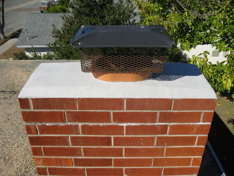 Masonry Chimney with Flue