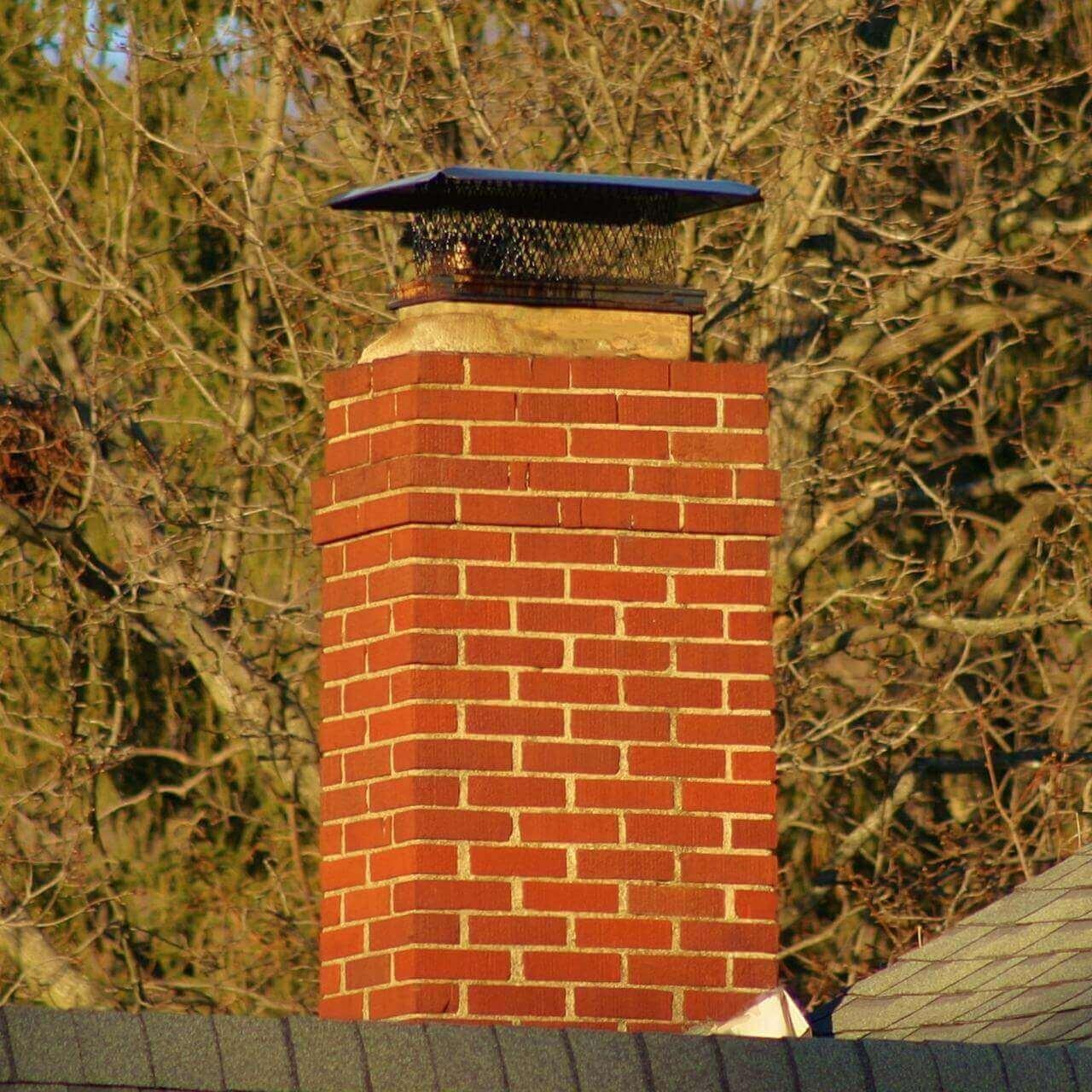 Masonry Chimney with no Flue
