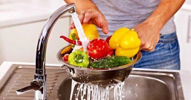 Sanitize Fruits and vegetables