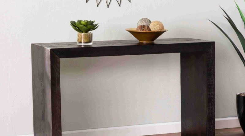 Modern And Contemporary Console Table Design Ideas Live Enhanced - Contemporary Console Table Decor Ideas