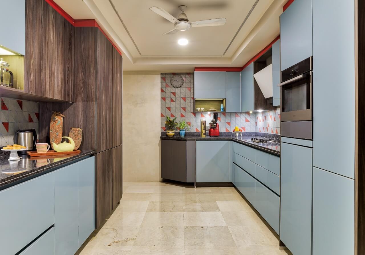 small kitchen interior