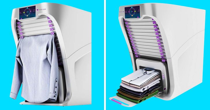 A machine that folds your laundry