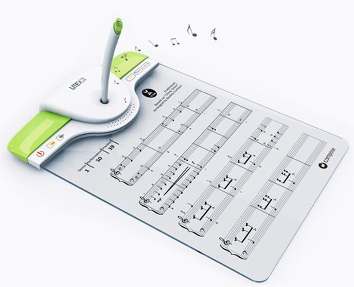 A pen that transcribes your singing into a score